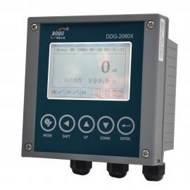 上海博取盐度计在线分析仪-工业在线盐度检测仪DDG-2080X