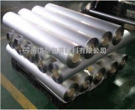 生产防潮铝塑膜锡箔纸 三层铝箔膜铝箔编织膜铝箔