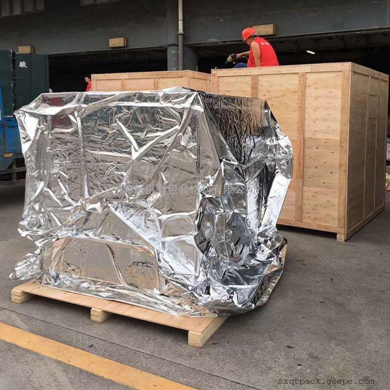 镀铝编织布立体袋生产定制
