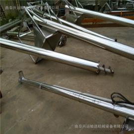 上料机节省空间垂直螺旋提升机参数 3米长不锈钢绞龙提升机