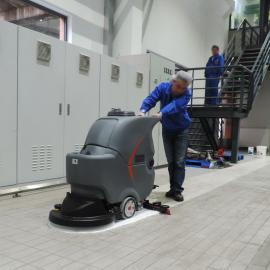 GAOMEI高美GM56B全自动扫拖吸手推式洗地机学校医院地面清洗机