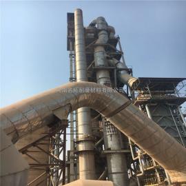 名拓电厂烟道防磨胶泥 高温陶瓷浇注料防腐耐磨