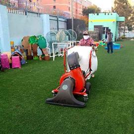 落叶回收吸尘器 吸树叶机器本田发动机小区道路草坪树叶回收机