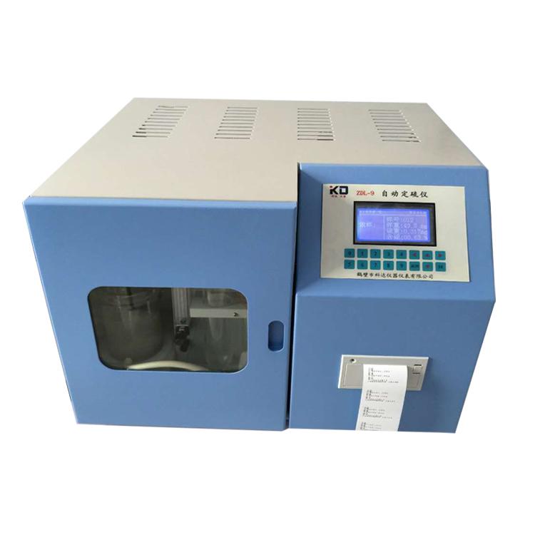 ZDL-9触控自动定硫仪AG官方下载,洗煤厂实验室分析设备