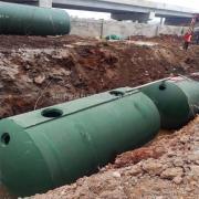 成品商砼雨水收集池