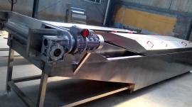 冠通机械全自动不锈钢 黄花菜漂烫机 鱿鱼圈漂烫机