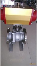 Q641F-10K日标不锈钢球阀