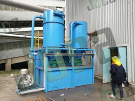 粉体生产中散落在机械地面用真空清扫系统