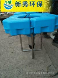 喷泉曝气机用于小区池塘美化环境