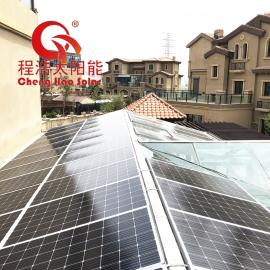 程浩兰 州10kw 20kw别墅家用太阳能发电系统家用全套CH-GF-12KW