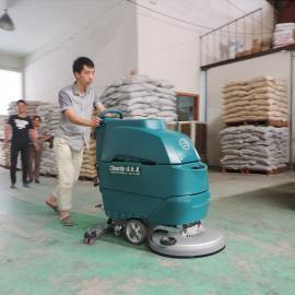仓库拖地机 洁乐美全自动手推式洗地机 车间清洗机 手推式清洗机