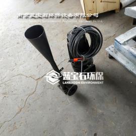 1.5kw潜水式自吸曝气机QSB1.5-22射流式