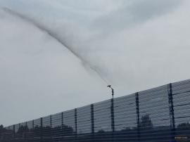 FS60降尘喷枪 防尘洒水喷枪煤焦化工厂洒水喷枪煤场除尘喷枪