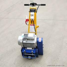 250型电动铣刨机 手推式混凝土凿毛机 电动路面打毛机