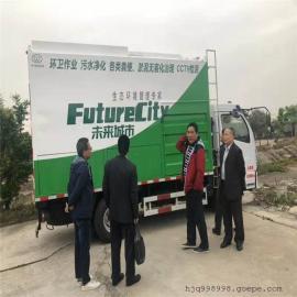 未来城市源头治污新方案环保吸污车
