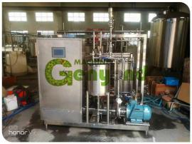 亘扬牛奶巴氏杀菌机板式杀菌机蒸汽换热节能高效