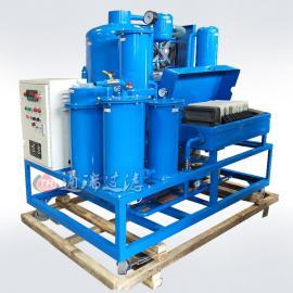 ZJD-K-10抗磨液压油旧油变新油多功能板框真空过滤设备