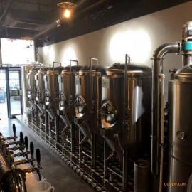 史密力维500升自酿啤酒设备全自动控温系统