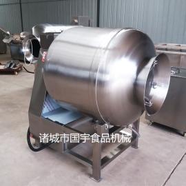 国宇GR-500肉制品全自动腌制入味真空滚揉机
