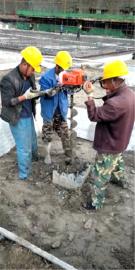 管桩柱掏土机可配置直径500以下清桩头