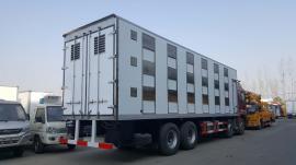 *运输拉猪车密封式铝合金厢体