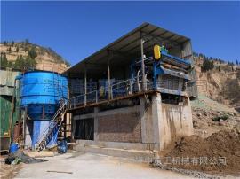 环保污泥脱水机 带式压滤机脱水现场