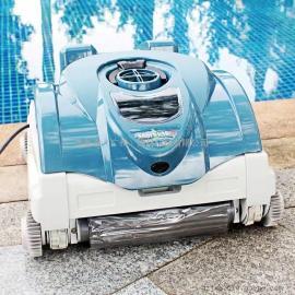 享沃彩鲨增强型泳池吸污机 自动清水下洁机 可爬墙电动吸污机