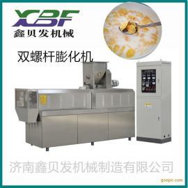 鑫贝发玉米片加工机器 早餐谷物膨化食品机械beplay手机官方xbf70