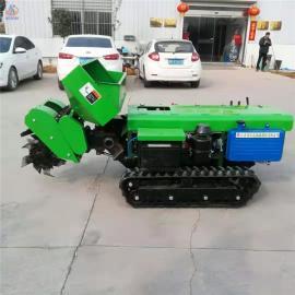 圣泰履带式开沟机用途 全自动开沟施肥机图片ST-32