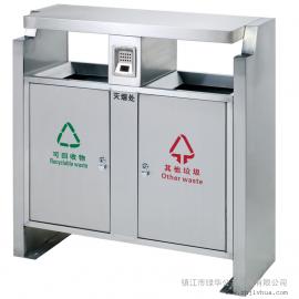 丹阳不锈钢果皮箱-丹阳户外垃圾桶厂