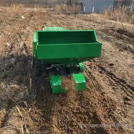 开创履带遥控自走开沟施肥回填机 体积小重心低操作灵便KC-开沟机