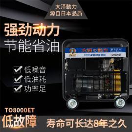 大泽动力 250A柴油发电电焊机 TO250A