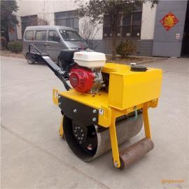 源工现货出售单轮压路机手扶振动汽油压路机YG-600