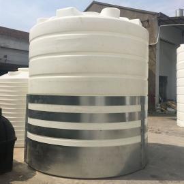 华she20T耐酸碱塑liao储罐食pin环保无毒水箱污水处理循环水塔20000L