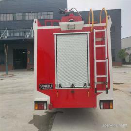 江特牌五十ling原厂国六排放di盘3.5吨水罐救火灭火消防车生产JDF5100GXFSG30/Q6