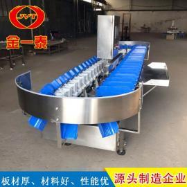 jinyi泰翻盘式重量分jian机 大虾分xuan机设备0035