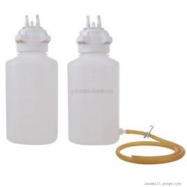 圣斯特sciencetool塑料三通孔真空吸液缓冲瓶SB-PP40/SB-PP40D