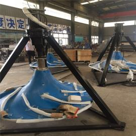 如克大型玻璃高叶轮非标双曲面搅拌机定制型号齐全GSJ-500