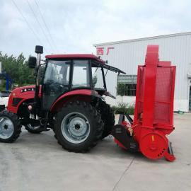 圣泰干玉米秸秆粉碎收集机 青贮牧草收割回收机 机器性能ST-1000
