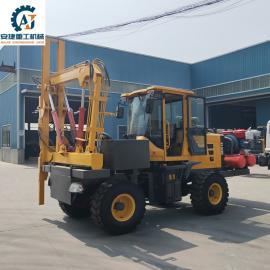 铲车式高速护栏打zhuang机安捷AJ-HL930