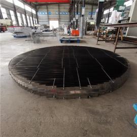 凯迪金属折流板除沫除雾效率高按客户标准