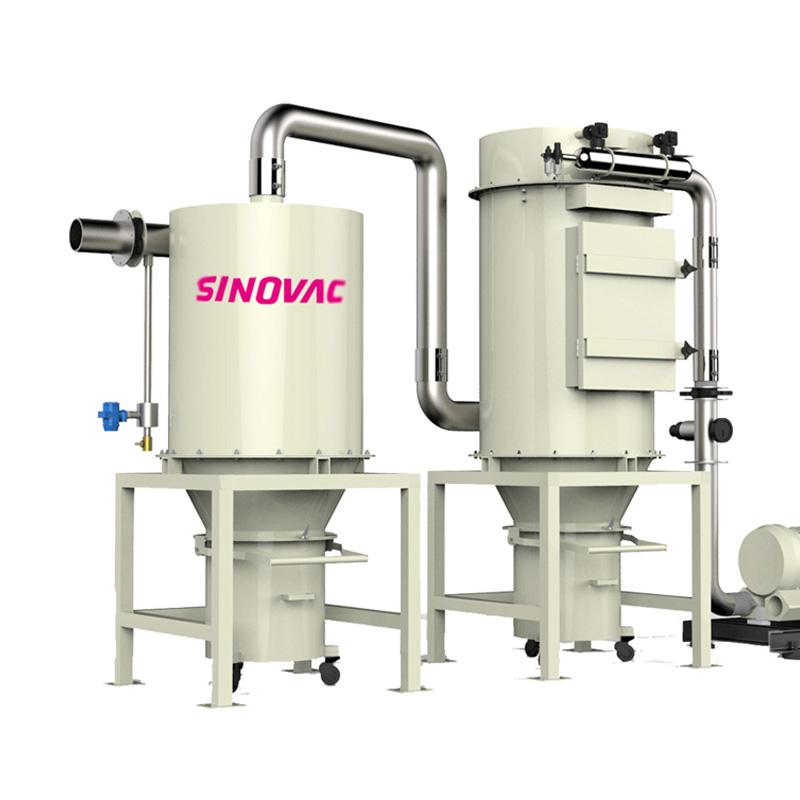 SINOVAC真空清扫系统水泥厂石灰石负压吸尘系统CVP