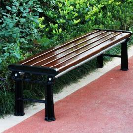 SG时景家具铁艺公园椅户外长椅长条排椅座椅广场休闲长凳