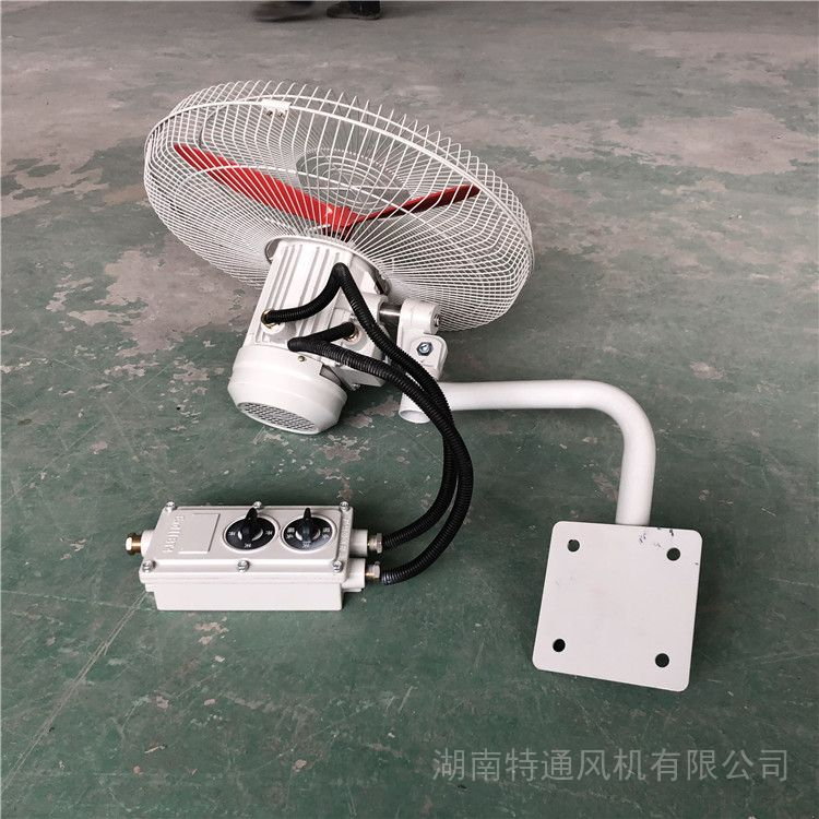 FB-500防爆摇头扇BTS防爆牛角扇可带调速开关壁式/落地式