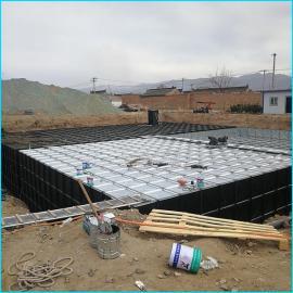 宏利恒wu底板箱泵一体化水箱