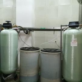 离子交换树脂软化水设备 玻璃钢缠绕罐软水器 全自动软水器富莱2850