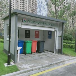 绿华lvhua昆山垃圾房定制 环保分类垃圾房ljf--4