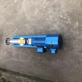 鄂泉不锈钢变频螺杆泵 防爆变频单螺杆泵FG20-2