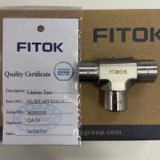 美国FITOK飞托克1/2对焊三通现货SS-WT-TB8