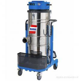 西安工业吸尘器 陕西工厂车间大功率铁屑粉尘粉末灰尘吸尘器